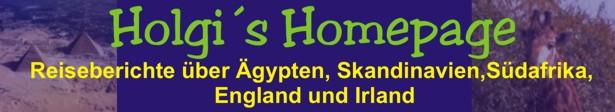 Holgi´s Homepage mit Reiseberichten